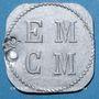 Coins Saint-Hippolyte-du-Fort (30). E. M. C. M. (Ecole Militaire Coopétative Militaire). 25 centimes