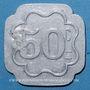 Coins Saint-Hippolyte-du-Fort (30). E. M. C. M. (Ecole Militaire Coopétative Militaire). 50 centimes