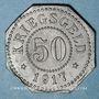 Coins Sarrebourg (57). Ville. 50 pfennig 1917