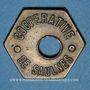 Coins Saulnes (54). Coopérative de Saulnes. Baguette. Perforé