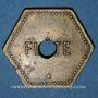 Coins Saulnes (54). Coopérative de Saulnes. Flûte. Perforé