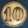 Coins Schiltigheim (67). Conservenfabrik (fabrique de conserves). 10 pfennig, type 2