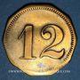 Coins Schiltigheim (67). Conservenfabrik (fabrique de conserves). 12 pfennig, type 3