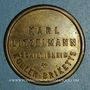 Coins Schiltigheim (67). Karl Litzelmann - Kohlen Briketts (briquettes de charbon). sans valeur. Laiton