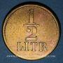 Coins Strasbourg (67). A. Beyer (aubergiste, 1872-90). 1/2 litre