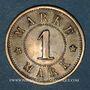 Coins Strasbourg (67). Arb. Consum Genossenschaft. 1 mark