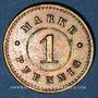 Coins Strasbourg (67). Arb. Consum Genossenschaft. 1 pfennig
