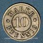 Coins Strasbourg (67). Arb. Consum Genossenschaft. 10 pfennig