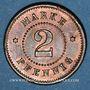 Coins Strasbourg (67). Arb. Consum Genossenschaft. 2 pfennig