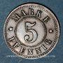 Coins Strasbourg (67). Arb. Consum Genossenschaft. 5 pfennig