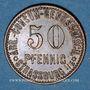 Coins Strasbourg (67). Arb. Consum Genossenschaft. 50 pfennig