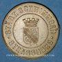 Coins Strasbourg (67). Bains municipaux (Städt. Schwimmbad). Laiton uniface. 26 mm