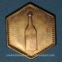 Coins Strasbourg (67). Consum-Genossenschaft Artillerie Werkstadt. 1/2 (litre). Laiton