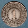 Coins Strasbourg (67). Consum-Genossenschaft Artillerie Werkstadt. 1 (pfennig)