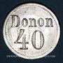 Coins Strasbourg (67). Donon. 40 pfennig n. d.