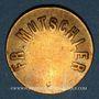 Coins Strasbourg (67). Fr. Mutschler (restaurant Grande Taverne Vignette). 10 centimes