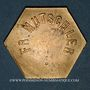 Coins Strasbourg (67). Fr. Mutschler (restaurant Grande Taverne Vignette). 25 centimes