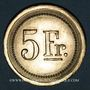 Coins Strasbourg (67). Fr. Mutschler (restaurant Grande Taverne Vignette). 5 francs