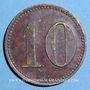 Coins Strasbourg (67). Jos. Recht. 10 (pfennig)