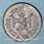 Coins Strasbourg (67). Ville. 10 pfennig 1918. Fer. Défaut de découpe du flan