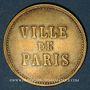 Coins Strasbourg (67). Ville de Paris - J. Burger. sans valeur