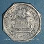 Coins Thionville (57). Lothringische Eisenbahn Aktiengesellschaft. (10 pf). LE.A contremarqué