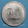 Coins Toulon (83). Café du Centre - J. B. 30 centimes