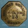 Coins Ussel (19). Boulangerie Coopérative d'Ussel. 2 kg 500. Laiton