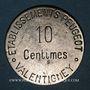 Coins Valentigney (25). Etablissements Peugeot. 10 centimes