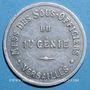 Coins Versailles (78). 1er Génie, Mess des Sous Officiers. 50 centimes