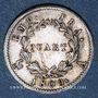 Coins 1er empire (1804-1814). 1/4 franc EMPIRE 1808 A