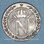 Coins 1er empire (1804-1814). 10 centimes 1809 Q. Perpignan