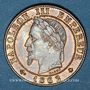 Coins 2e empire (1852-1870). 1 centime tête laurée 1862 A