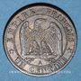 Coins 2e empire (1852-1870). 1 centime tête laurée 1870 A