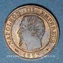Coins 2e empire (1852-1870). 1 centime tête nue 1853 A