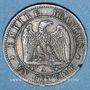 Coins 2e empire (1852-1870). 1 centime tête nue 1854 A