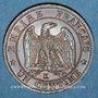 Coins 2e empire (1852-1870). 1 centime tête nue 1856 K. Bordeaux