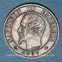 Coins 2e empire (1852-1870). 1 centime tête nue 1857 MA. Marseille