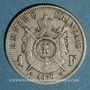 Coins 2e empire (1852-1870). 1 franc tête laurée 1870 BB. Strasbourg