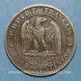 Coins 2e empire (1852-1870). 2 centimes tête laurée 1862 K. Bordeaux