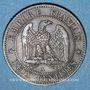 Coins 2e empire (1852-1870). 2 centimes tête nue 1853 A