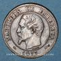 Coins 2e empire (1852-1870). 2 centimes tête nue 1853 MA. Marseille