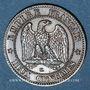 Coins 2e empire (1852-1870). 2 centimes, tête nue, 1854 K. Bordeaux