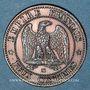Coins 2e empire (1852-1870). 2 centimes, tête nue, 1854 MA. Marseille