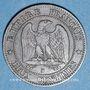 Coins 2e empire (1852-1870). 2 centimes, tête nue, 1855 B. Rouen. Ancre