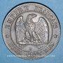 Coins 2e empire (1852-1870). 2 centimes, tête nue, 1856 B. Rouen