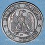 Coins 2e empire (1852-1870). 2 centimes, tête nue, 1856 BB. Strasbourg