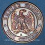 Coins 2e empire (1852-1870). 2 centimes, tête nue, 1856 K. Bordeaux
