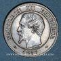 Coins 2e empire (1852-1870). 2 centimes, tête nue, 1857 MA. Marseille