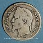Coins 2e empire (1852-1870). 2 francs tête laurée 1869 BB. Strasbourg
